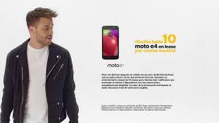¡Recibe hasta 10 Moto e4 en lease por cuenta nuestra!