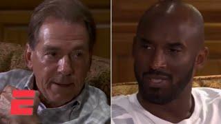 Kobe Bryant visits Alabama football team, has sit-down conversation with Nick Saban | ESPN