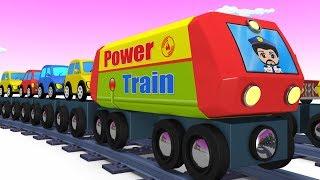 Trains for kids - Choo Choo Train - Kids Videos for Kids - Trains - Toy Factory - Cartoon Train