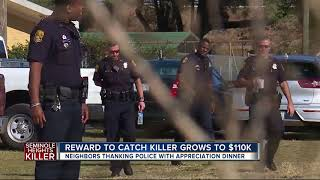 Reward to catch killer grows to $110K