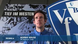 Blick auf die Partie VfL Bochum 1848 - 1. FC Heidenheim mit Robbie Kruse