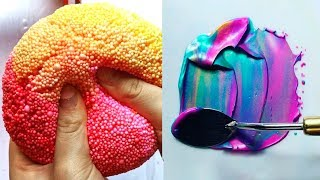 Most Satisfying Slime Videos In The World! 🍰 New Oddly Satisfying Musical.ly Compilation