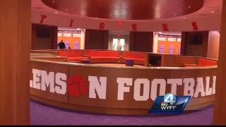 Clemson Football gives inside look into new practice facility