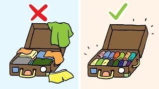 So packst du deinen Koffer richtig!