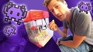 Popcorn machen im UFO!