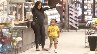 Pregnant Blac Chyna Hits The Market Looking Huge Amid Reports Of Relationship Troubles