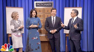 Pictionary with Shailene Woodley, Eugene Levy and Catherine O