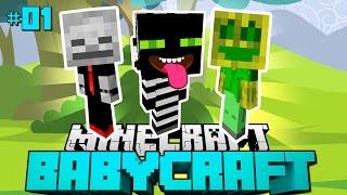 DIE AUSBRUCHSFREUNDE?! - Minecraft Babycraft #01 [Deutsch/HD]