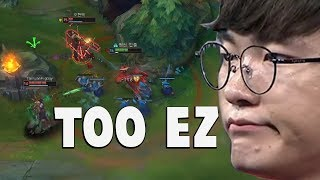 """When Faker Does His """"Playmaker"""" Moves Again...   Funny LoL Series #323"""