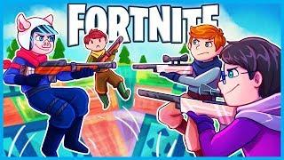 *NEW* NO SCOPE BOUNCER MINI GAME in Fortnite: Battle Royale! (Fortnite Playground Mode Custom Games)