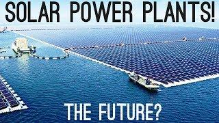 Solar Power Plants   The Next Big Thing?
