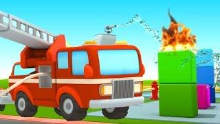 Marias Autoschule: neue Aufgaben für  Feuerwehrautos – Lehrreiche Zeichentrickfilme auf Deutsch