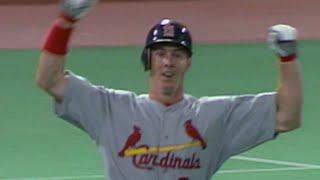 Chris Richard homers in his first MLB at-bat