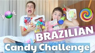 BRAZILIAN CANDY CHALLENGE 😂 | Julienco