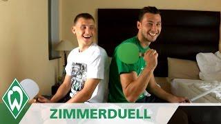 Werder Bremen Zimmerduell: Maximilian Eggestein & Lukas Fröde
