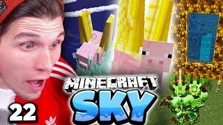 WIR VERLASSEN PALDADOBEY & EDGAR HAT FLÜGEL! ✪ Minecraft Sky  #22   Paluten