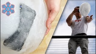 iPhone X Freeze Test! Frozen Solid Drop Test