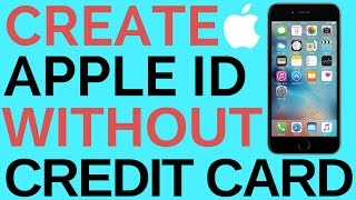 How To Create Apple ID without Credit Card 2017
