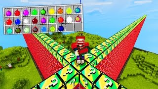 SHADE APFEL KRASSER ALS ILLUMINATI PIZZA  | LUCKY BLOCKS WALL