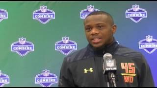 Artavis Scott, WR, Clemson | 2017 NFL Scouting Combine