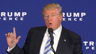 "Full Video: Trump lays out his ""Contract with America"""