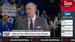 Jay Bilas says he has yet to see a great team this season | College GameDay | ESPN