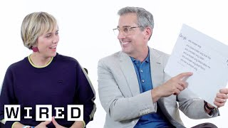 Steve Carell & Kristen Wiig Answer the Web