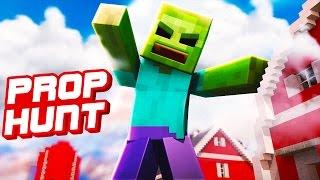 NEUE FARM ZERSTÖRT!!   Minecraft Prop Hunt