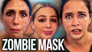 ZOMBIE Face Masks w/ CHLOE LUKASIAK! (Beauty Break)