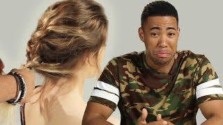 Boyfriends Braid Their Girlfriends