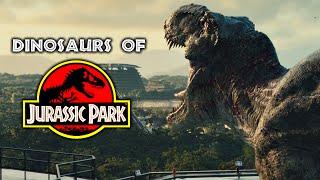 Dinosaurs of Jurassic Park - Every Dinosaur In The Jurassic Franchise