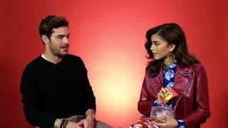 We Got Zac Efron And Zendaya To Interview Each Other | Buzzfeed UK