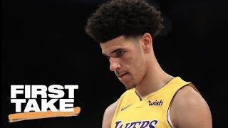 Stephen A. Smith says Lonzo Ball is not worth the hype | First Take | ESPN
