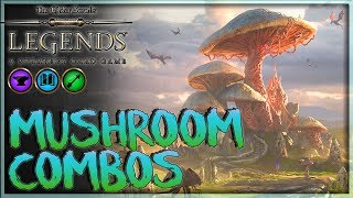 [TES LEGENDS] MUHSROOM COMBOS -  Betray Telvanni Control Deck Gameplay 🗡️ Houses of Morrowind