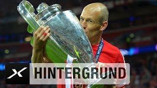 100 Spiele: Arjen Robbens Meilenstein in der Königsklasse   UEFA Champions League   FC Bayern