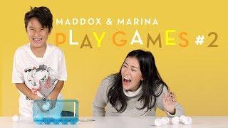 Maddox and Marina Play Games #2   Kids Play   HiHo Kids