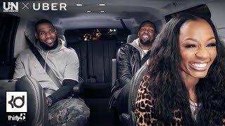 KD Rolling With LeBron James & Cari Champion