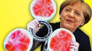 Der größte Wassermelonen Fidget Spinner der Welt - DiY