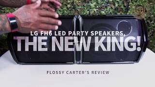 LG LOUDR Speaker - FH6 | Flossy Carter Review Highlights