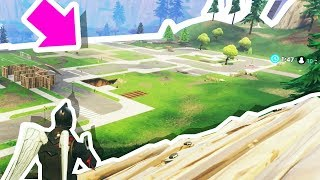 WE DESTROYED EVERY BUILDING IN PLEASANT PARK!!! (Fortnite: Battle Royale)