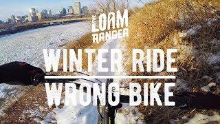 WINTER RIDE // Wrong Bike