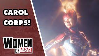 Meet Amazing Members of The Carol Corps!   Women of Marvel