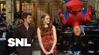 Emma Stone Monologue: The Amazing Spiderman - Saturday Night Live