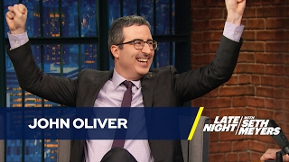 John Oliver Thinks Obama Should Chill with the Vacation Photos