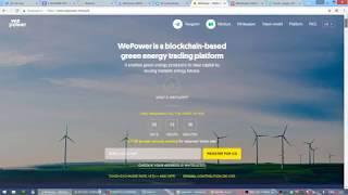 ICO WePower - краткий обзор, стартует 1 февраля 2018
