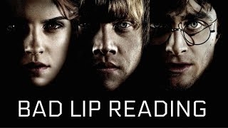 BAD LIP READING | HARRY POTTER AND THE PHILOSOPHER