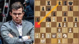 He Who Dares, Wins! | Caruana vs Carlsen 2018. | Game 12