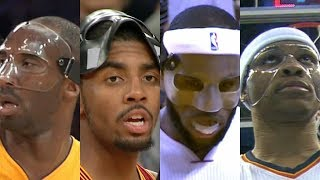 Top NBA masked performances from LeBron James, Russell Westbrook, Kyrie Irving, Kobe Bryant | ESPN