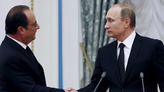 Putin cancels visit to France amid Syria tensions