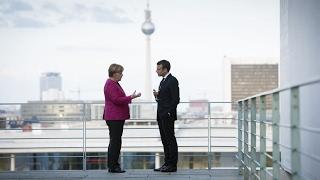 Macron, Merkel react to G7 meeting with Trump